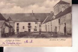 VILLERS-LA-VILLE ferme de l'abbaye vue cour int�rieure