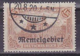 Memel MiNr. 11a Gestempelt, Tiefst Geprüft Huylmans BPP  (R 594) - Memel (Klaïpeda)