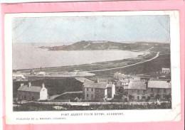 PORT ALBERT FROM BUTES ALDERNEY A HEATLEY GUERNSEY - Alderney