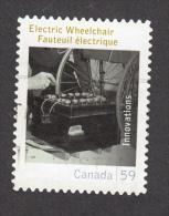 Canada, Handicaps, Handicapé, Handicapped, Fauteuil Roulant électrique, Electric Whellchair, Batterie, Battery - Handicaps