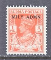 BRITISH  B URMA  35       * - Burma (...-1947)