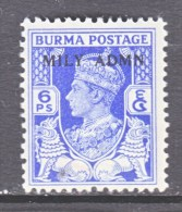 BRITISH  B URMA  37       * - Burma (...-1947)