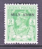 BRITISH  B URMA  38       * - Burma (...-1947)