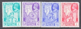 BRITISH  B URMA  66-9       **  MAP - Burma (...-1947)