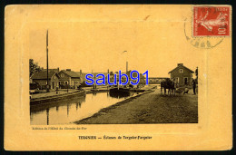 Tergnier - Ecluses De Tergnier Fargnier - Eclusage - Halage Par Chevaux -  Batellerie -  Réf: 32535 - Sonstige Gemeinden