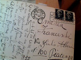 CARD BOLOGNA CHIESA S DOMENICO ANNULLO TARGHETTA 2 A GIORNATA DELLA TECNICA 4 MAGGIO XIX  1941  EO10003 - Storia Postale