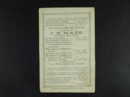 J.B. Maes Priester Arendonck 1805 Rethy 1889 - Devotion Images