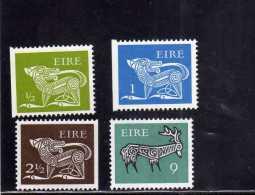 EIRE - IRLANDA - IRELAND 1968 - 1970 HERALDIC SYMBOLS ANIMALS DEFINITIVE STAMP SIMBOLI ARALDICI ANIMALI MNH - 1949-... Repubblica D'Irlanda