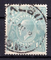 Australia 1920 King George V 14d Single Crown Watermark ALBURY NSW - Gebruikt