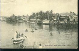 SOUTHERN NIGERIA, WASHMAN'S TUB RACE, XMAS 1909 1.10.1911 Nach Stendal - Nigeria