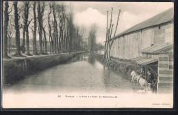 EVREUX . L'Iton Au Pont Du Bois - Jollet . Laveuses . - Evreux