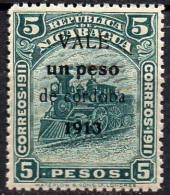 Nicaragua  Mi. 337  Historische Dampflok 1913 **/MNH - Trains