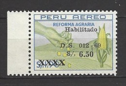 PERU Mi-Nr. 713 Agrarreform Postfrisch (1) - Landwirtschaft