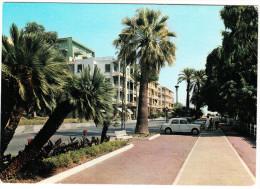 Ospedaletti: FIAT 1100 103  - Passeggiata E Via Aurelia - Italia/Italy - Voitures De Tourisme