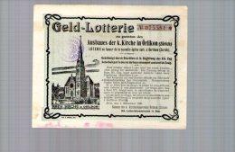 Billet De Loterie 01/11/1906 Zurich - Suisse - Biglietti Della Lotteria