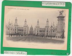 PARIS EXPOSITION UNIVERSELLE 1900 AVENUE NICOLAS II - Expositions