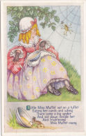 NURSERY RHYME -- LITTLE MISS MUFFET - Children