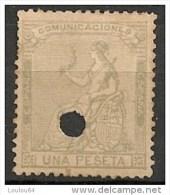 Timbres - Espagne - 1872-1873 - 1P - N° 137 - - 1872-73 Royaume: Amédée I