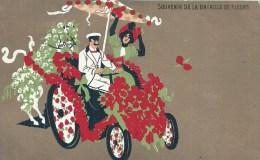 PACA - 06 - ALPES MARITIMES -NICE - Carnaval - Souvenir De La Bataille De Fleurs - Carnevale