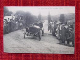 Cp Circuit De La Sarthe 1906 (équipe Bayard) Passerelle De St-Calais (la Sortie) - France