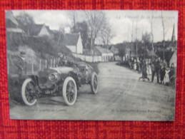 Cp Circuit De La Sarthe 1906 (équipe Bayard) Virage à La Sortie De Lamnay - France