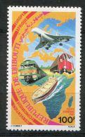 DJIBOUTI ( REPUBLIQUE ) :  AERIEN , Y&T  N°  149  TIMBRE  NEUF  SANS  TRACE  DE  CHARNIERE ,  A  VOIR . - Djibouti (1977-...)