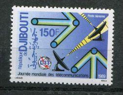 DJIBOUTI ( REPUBLIQUE ) :  AERIEN , Y&T  N°  246  TIMBRE  NEUF  SANS  TRACE  DE  CHARNIERE ,  A  VOIR . - Djibouti (1977-...)
