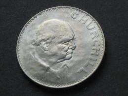 Médaille CHURCHILL -  Elizabeth II Dei Gratia Regina  - 1965 -  **** EN ACHAT IMMEDIAT **** - Royaux/De Noblesse