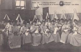 PARIS XIV° Passage Rimbaut  SOCIETE PHILANTHROPIQUE Protection Enfance Crée 1780 ASILE Maternel Ouvroir Bébés - Distretto: 14