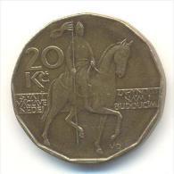 REPUBBLICA CEKA  20 KORUN  ANNO 1993 - Repubblica Ceca