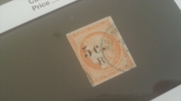 LOT 234244 TIMBRE DE COLONIE REUNION OBLITERE N�6 VALEUR 50 EUROS