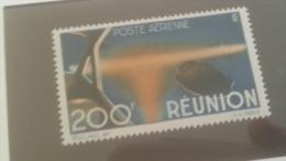 LOT 234255 TIMBRE DE COLONIE REUNION NEUF* N�44 VALEUR 18 EUROS