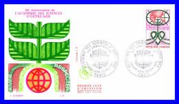 1760 (Yvert) Sur FDC (GF-PJ) - 50ème Anniversaire De L'Académie Des Sciences D'Outre-Mer - France 1973 - 1970-1979
