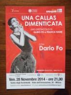 Maria Callas Carte Postale - Famous Ladies
