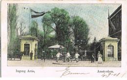 Col. AK Amsterdam, Ingang Artis 1901 - Amsterdam