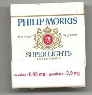 POCHETTE D ALLUMETTES NEUVE  PHILIP MORRIS - Boites D'allumettes