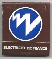 POCHETTE D ALLUMETTES NEUVE ELECTRICITE DE FRANCE - Boites D'allumettes