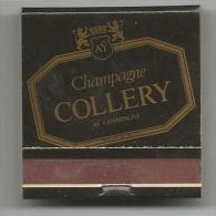POCHETTE D ALLUMETTES NEUVE CHAMPAGNE COLLERY - Boites D'allumettes