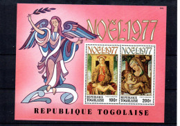 Togo YT Bloc 112 XX / MNHBelini Crivelli - Religione