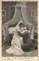 COUPLE - Lot De 6 Cartes Fantaisies (scannées Recto-verso). - Cartes Postales