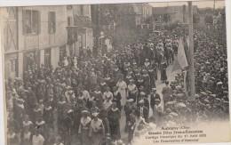 D18-AUBIGNY-GRANDES FETES FRANCO ECOSSAISES CORTEGE HISTORIQUE15.08.1931-LES DEMOISELLES D´HONNEUR-état Voir Descriptif - Aubigny Sur Nere