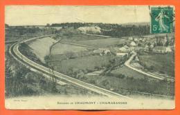 """Dpt  52  Environs De Chaumont  """"  Chamarandes  """"  Etat - Autres Communes"""