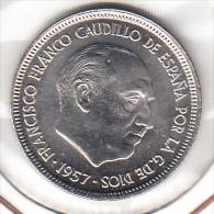 ESPAÑA 1975 ESTRELLAS  19-73. 5 Pts. FRANCO NUEVA SIN CIRCULAR.PRECIOSA .RARA . CN4085 - 5 Pesetas