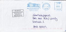 Freistempel / Meter Stamp / EMA , FRANCOTYP-POSTALIA ,EFS 3000, F740338, 34596 Bad Zwesten, Krankenhaus,Hospital,Hôpital - BRD