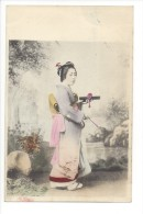 10644 -    Femme Japonnaise  Geisha - Japon