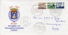 """Leuk Ding: 30 Jaar Vereniging Van Postzegelverzamelaars """"Assen"""" (1967) - Covers & Documents"""