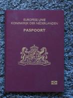 Netherlands Biometric Passport !  Reisepass Passeport Passaporte Many Visa´s - Historical Documents