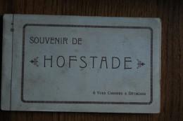 """5888/ Souvenir De HOFSTADE - Malines - Café Restaurant """"La Sablonnière""""  (carnet Complet De 6 Vues) - Zemst"""