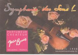 CARTE PARFUMEE JEAN BOUIS - Cartes Parfumées