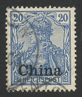 Germany, Offices In China, 20 Pf. 1901, Sc # 27, Mi # 18, Used. - Offices: China